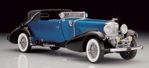 miniature de voiture Duesenberg  J Victoria 1933 The Franklin Mint Quirao idées cadeaux