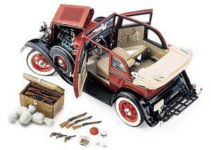 miniature de voiture Ford 1932 -Bonnie & Clyde The Franklin Mint Quirao idées cadeaux