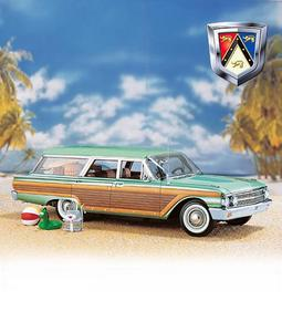 miniature de voiture Ford Country Squire Station Wagon 1961 The Franklin Mint Quirao idées cadeaux