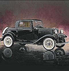 miniature de voiture Ford Deuce coupe 1932 The Franklin Mint Quirao idées cadeaux
