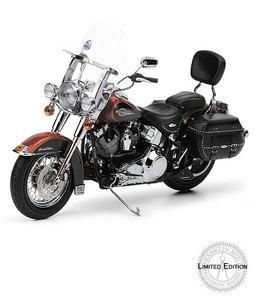 miniature de moto Harley-Davidson Heritage Softail Classic  2007 - LE The Franklin Mint Quirao idées cadeaux