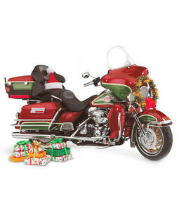 miniature de moto Harley Davidson Holiday Bike (B11E032) The Franklin Mint Quirao idées cadeaux