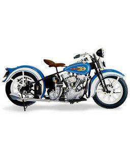 miniature de moto Harley Davidson Knucklehead  1936 The Franklin Mint Quirao idées cadeaux