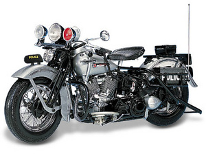 miniature de moto Harley Davidson Panhead 1903 -police- The Franklin Mint Quirao idées cadeaux