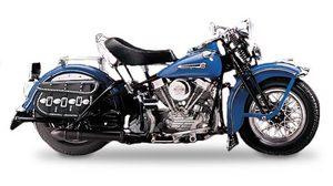 miniature de moto Harley Davidson Panhead 1948 The Franklin Mint Quirao idées cadeaux