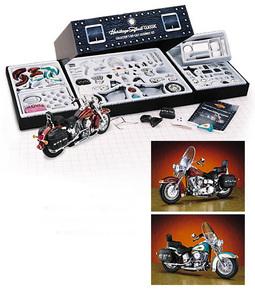 miniature de moto Harley Davidson Softail classic kit The Franklin Mint Quirao idées cadeaux