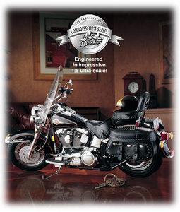 miniature de moto Harley Davidson Softail connoisseur The Franklin Mint Quirao idées cadeaux