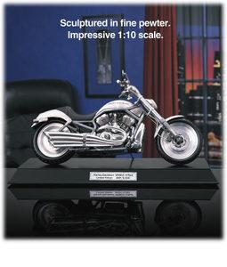 miniature de moto Harley-Davidson VRSCA V-Rod  (étain) The Franklin Mint Quirao idées cadeaux