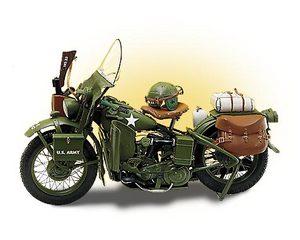 miniature de moto Harley Davidson wla military 1942 The Franklin Mint Quirao idées cadeaux