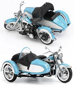 miniature de moto Harley-Davidson Duo-Glide w/Sidecar LE 1958 The Franklin Mint Quirao idées cadeaux