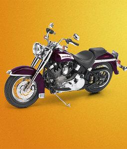 miniature de moto Harley-Davidson Heritage Softail Classic - 2006 The Franklin Mint Quirao idées cadeaux