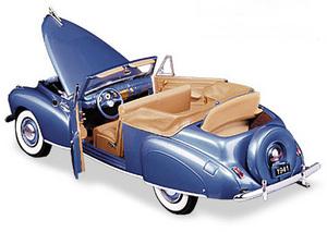 miniature de voiture Lincoln Continental 1941 The Franklin Mint Quirao idées cadeaux