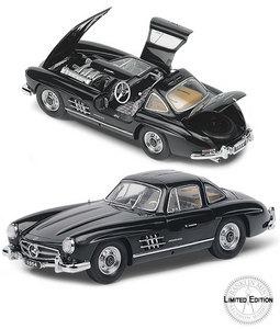 miniature de voiture Mercedes-Benz Gullwing 1954 The Franklin Mint Quirao idées cadeaux