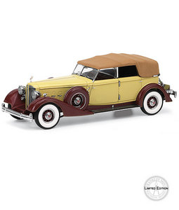 miniature de voiture Packard Convertible Sedan -1934 The Franklin Mint Quirao idées cadeaux