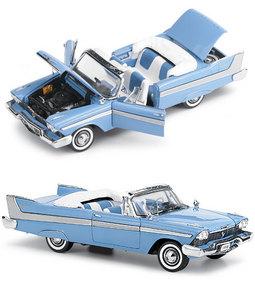 miniature de voiture Plymouth Belvedere 1958 The Franklin Mint Quirao idées cadeaux
