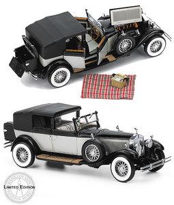 miniature de voiture Rolls-Royce Phantom I Cabriolet DeVille 1929 The Franklin Mint Quirao idées cadeaux