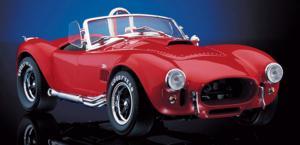 miniature de voiture Shelby Cobra 427 Rouge The Franklin Mint Quirao idées cadeaux