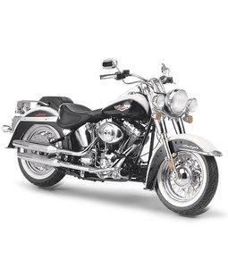 miniature de moto Harley-Davidson Softail Deluxe  2006 The Franklin Mint Quirao idées cadeaux