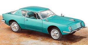 miniature de voiture Studebaker Avanti 1963 metallisée vert The Franklin Mint Quirao idées cadeaux