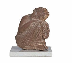 promotion sur Tanagra fillette endormie (résine) - 10 cm