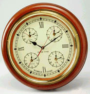 horloge Horloge monde en bois  Quirao idées cadeaux