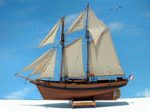 maquette bateau bois eol. Black Bedroom Furniture Sets. Home Design Ideas