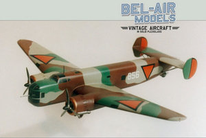 maquette d'avion Fokker T V Bob Dros - Bel Air Models Quirao idées cadeaux