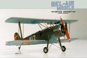 maquette d'avion Koolhoven FK 51 Bob Dros - Bel Air Models Quirao idées cadeaux