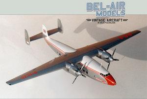 maquette d'avion Airspeed Ambassador Bob Dros - Bel Air Models Quirao idées cadeaux