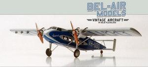 maquette d'avion Vickers Viastra II Bob Dros - Bel Air Models Quirao idées cadeaux