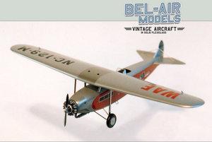 maquette d'avion Fokker F14 Bob Dros - Bel Air Models Quirao idées cadeaux