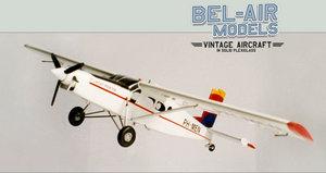 maquette d'avion Pilatus PC-6 Turbo Porter Bob Dros - Bel Air Models Quirao idées cadeaux