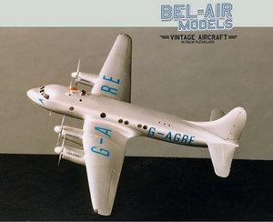 maquette d'avion Avro Tudor I Bob Dros - Bel Air Models Quirao idées cadeaux