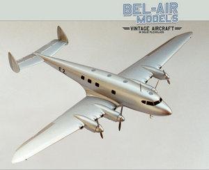 maquette d'avion De Havilland DH-91 Albatross Bob Dros - Bel Air Models Quirao idées cadeaux