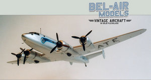 maquette d'avion Sud Est SE 161 Languedoc Bob Dros - Bel Air Models Quirao idées cadeaux