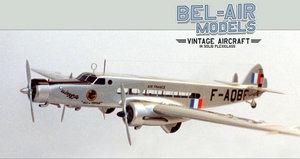 maquette d'avion Dewoitine D338 Bob Dros - Bel Air Models Quirao idées cadeaux