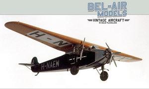 maquette d'avion Fokker F VIIb3m Bob Dros - Bel Air Models Quirao idées cadeaux