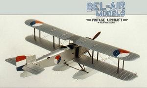 maquette d'avion Fairey IIID Bob Dros - Bel Air Models Quirao idées cadeaux