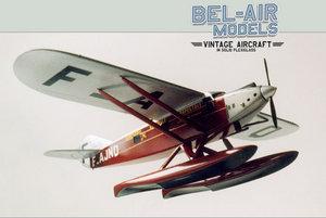 maquette d'avion Latécoère 28 (hydravion) Bob Dros - Bel Air Models Quirao idées cadeaux