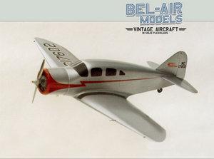 maquette d'avion Spartan Executive Bob Dros - Bel Air Models Quirao idées cadeaux