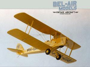 maquette d'avion De Havilland DH-82A Tiger Moth Bob Dros - Bel Air Models Quirao idées cadeaux