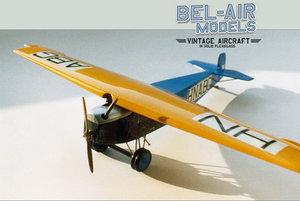 maquette d'avion Fokker F III Bob Dros - Bel Air Models Quirao idées cadeaux