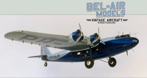 maquette d'avion Fokker F XXXVI Bob Dros - Bel Air Models Quirao idées cadeaux