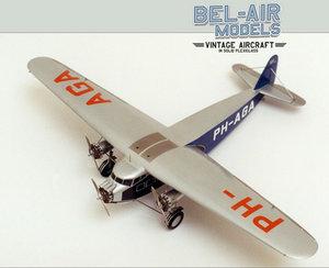 maquette d'avion Fokker F IX Bob Dros - Bel Air Models Quirao idées cadeaux
