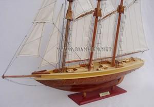 maquette de bateau, voilier, runabout Atlantic 60 cm Gia Nhien Quirao idées cadeaux