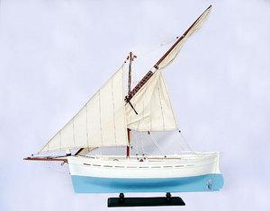 maquette de bateau, voilier, runabout Victoire 62 cm Gia Nhien Quirao idées cadeaux