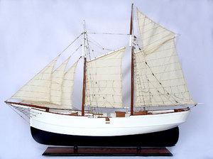 maquette de bateau, voilier, runabout Wanderbird 77 cm Gia Nhien Quirao idées cadeaux