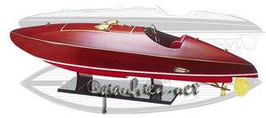 maquette de bateau, voilier, runabout Flyer 90 cm Gia Nhien Quirao idées cadeaux