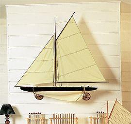 maquette de bateau, voilier, runabout Walkirie 110 cm  Quirao idées cadeaux