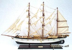 maquette de bateau, voilier, runabout Gorch Fock - (coque 62 cm) Gia Nhien Quirao idées cadeaux